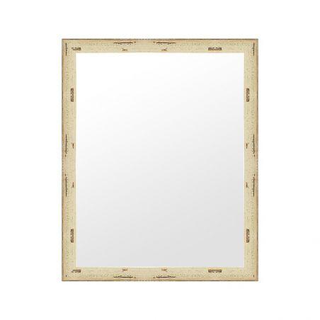 Cadre sur mesure en aluminium blanc brillant profil 15