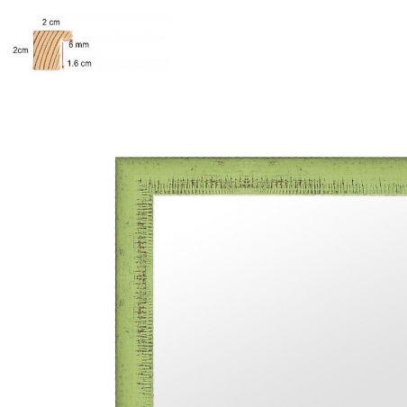 Cadre sur mesure en aluminium noir profil 15