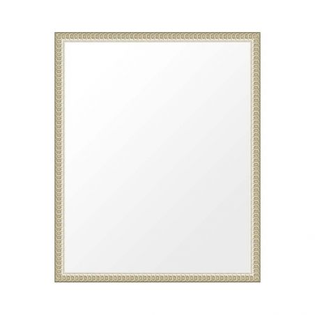 Cadre blanc fin rétro