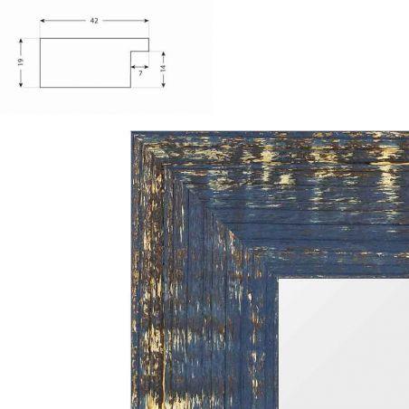 cadre sur mesure en aluminium blanc mat