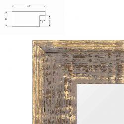 cadre sur mesure en aluminium nielsen rouge mat profil 51. Black Bedroom Furniture Sets. Home Design Ideas