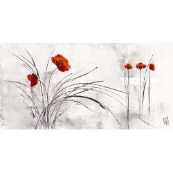 """Rêve fleurie V"" de Zacher Finet Isabelle"