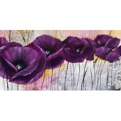 """""""Pavot violet I"""" de Zacher Finet Isabelle"""