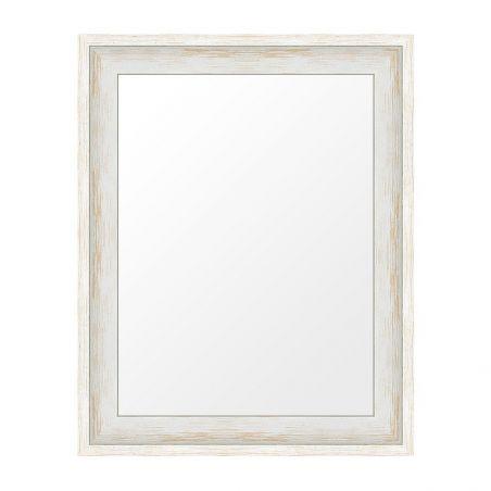 Caisse Américaine Fédora patine essuyée blanc