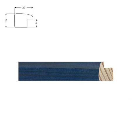 Cadre bleu laqué