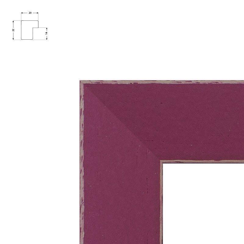 Cadre standard pour toile noir ou blanc mat