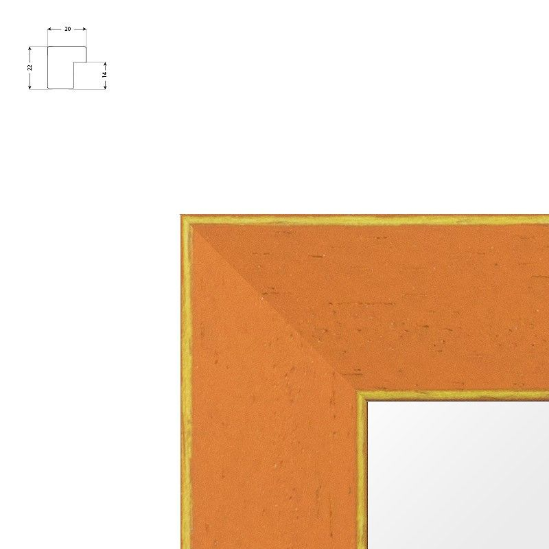 Cadre standard pour toile noir mat