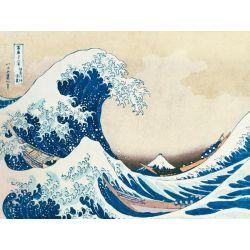 Die große Welle von Kanagawa de Hokusai, Katsushika