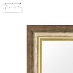 cadre plat sur mesure en placage ch ne. Black Bedroom Furniture Sets. Home Design Ideas