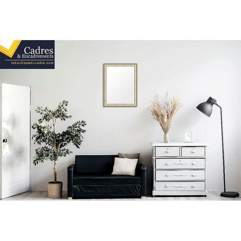 caisse am ricaine en u sp cial sous verre. Black Bedroom Furniture Sets. Home Design Ideas