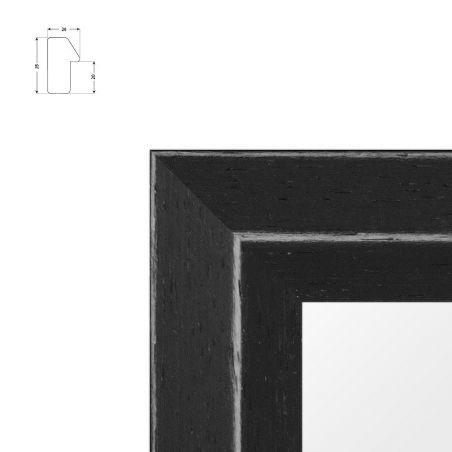 Cadre En Bois Doré Sculpté Raie De Coeur Standard Pour Toiles