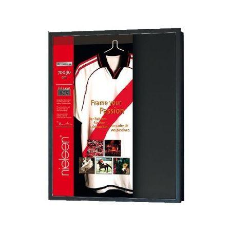 Frame box noir, caisse pour maillot