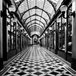 """""""Passage des princes, Paris"""" de Butcher Dave"""