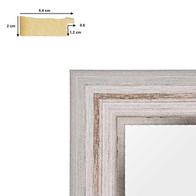 Cadre doré standard pour toile