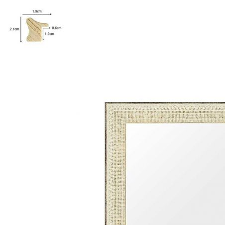 Cadre de style Hollandais noir mat