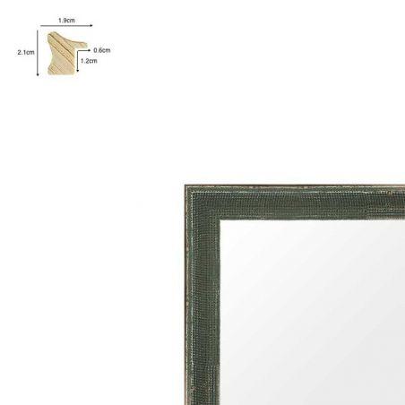 Cadre de style Hollandais gris métal