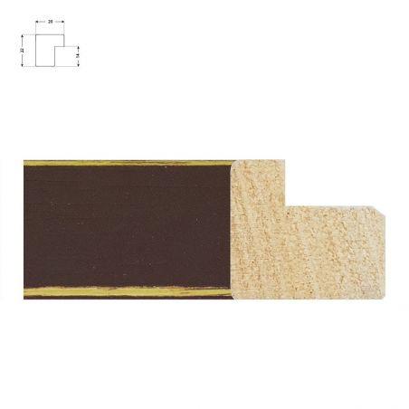 Cadre en bois naturel de 3 cm