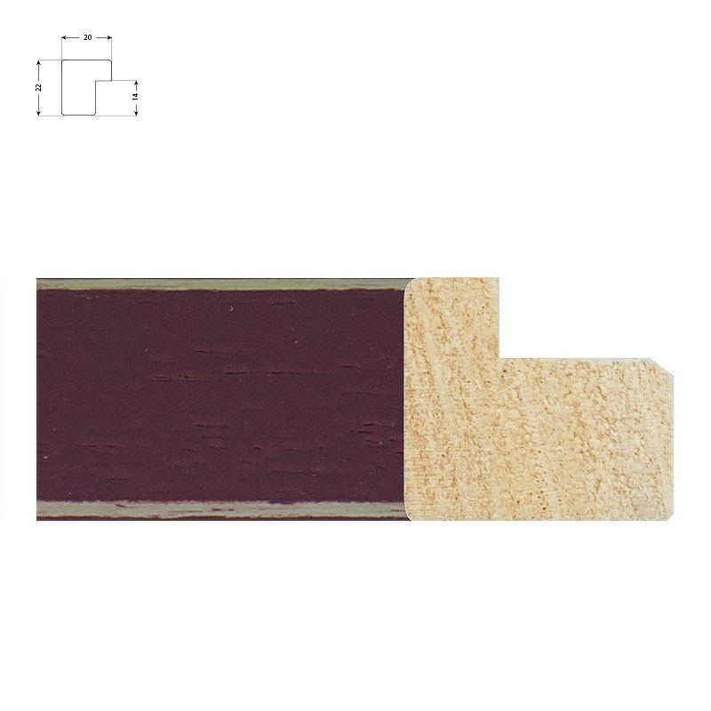 Cadre en bois naturel de 4 cm
