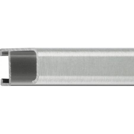 Cadre sur mesure en aluminium rouge mat Profil 51