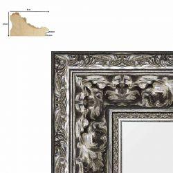 Cadre baroque Charles V  Argent