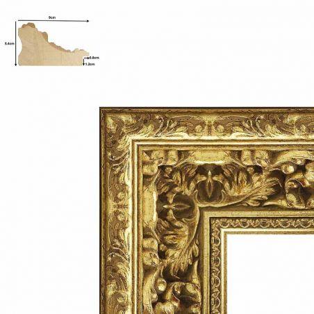 Cadre sur mesure en aluminium argent Profil 04