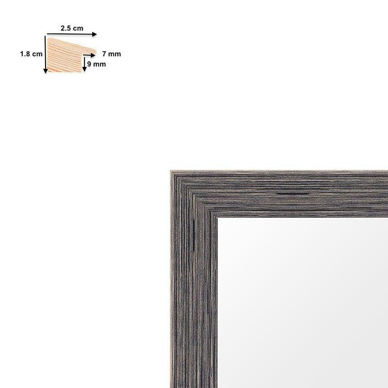 cadre sur mesure en bois patin tr s large. Black Bedroom Furniture Sets. Home Design Ideas